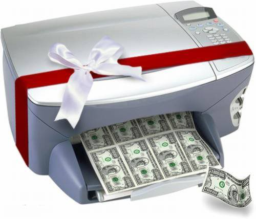 Does your printer Print real money? - Ameterreading