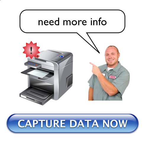 Capture data from printer now