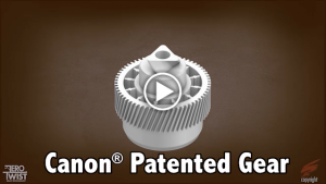 Canon patented gear