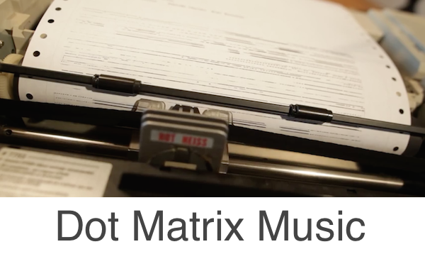 Dot matrix music 2